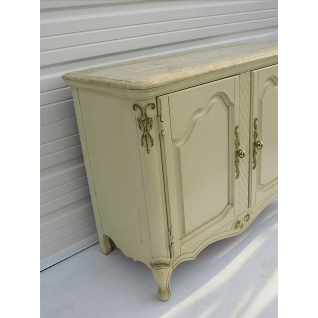 Bassett Mid-Century French Provincial Server - Image 3 of 10