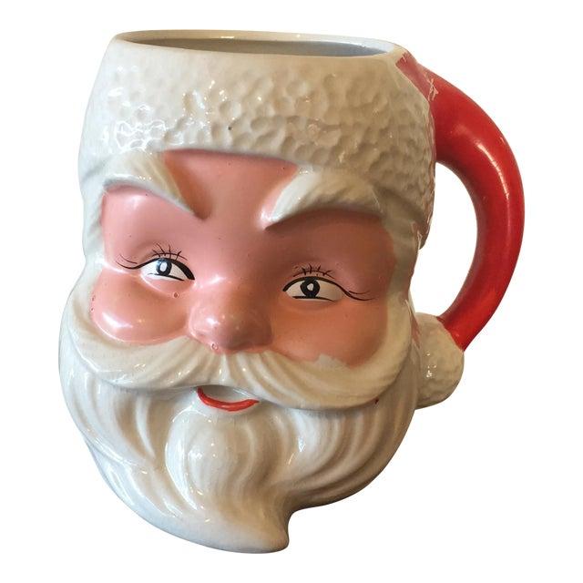 1950s Santa Claus Face Mug - Image 1 of 7