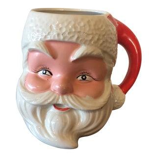 1950s Santa Claus Face Mug