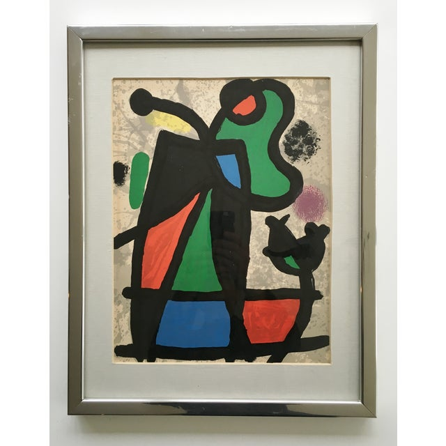 Image of Original Miro Lithograph From Derriere Le Miroir