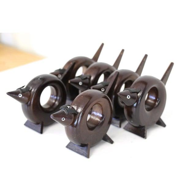 Rosewood Dog Napkin Rings - Set of 6 - Image 3 of 5