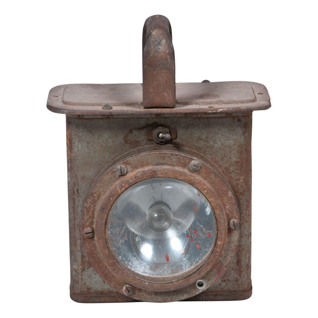 Vintage Industrial Decorative Lantern - Image 1 of 3