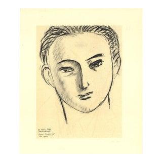 "Henri Matisse ""d'Apres Ilya Ehrenbourg"" 1954 Mourlot Lithograph"