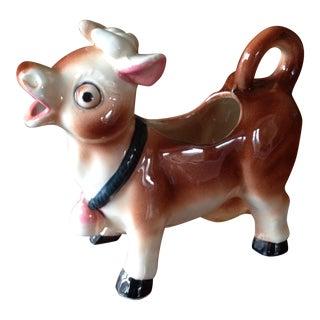Vintage Mid Century Cow Creamer