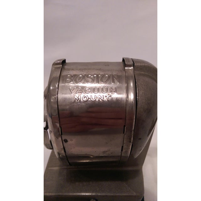 Vintage Boston Vacuum Mount Pencil Sharpener - Image 3 of 10