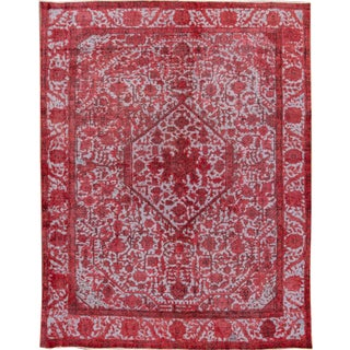 Apadana Red Over-Dyed Rug - 9′6″ × 12′6″