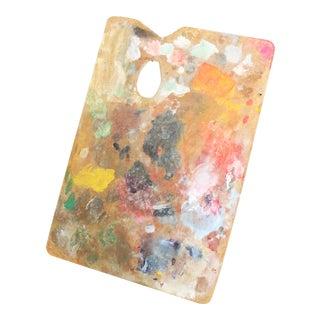 Vintage Artist Paint Board