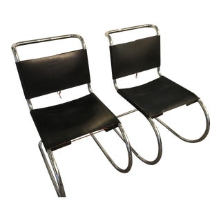 Marcel Breuer Spoleto Style Chairs - A Pair