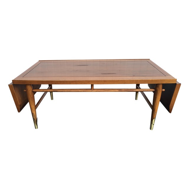 Mid-Century Lane Copenhagen Drop Leaf Coffee Table