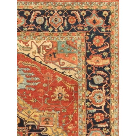 "Pasargad Serapi Collection Rug - 4' x 6'1"" - Image 2 of 2"