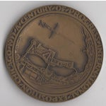 Image of 1933 Art Deco Chicago Expo Bronze Sculpture Medallion