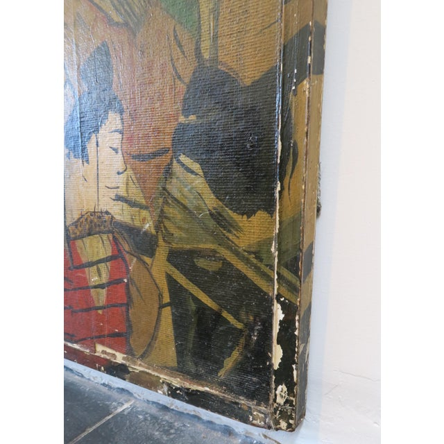 Decorative Chinese Wall Panels - A Pair - Image 2 of 6