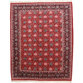"""RugsinDallas Vintage Hand-Knotted Persian Rug - 9' X 11'4"""""""