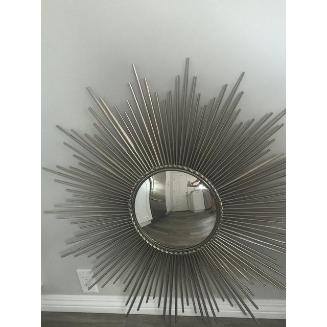Sunburst Mirror, Made from Nickel - Image 3 of 6