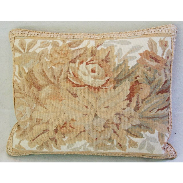 Custom Aubusson Tapestry Pillows - A Pair - Image 10 of 11