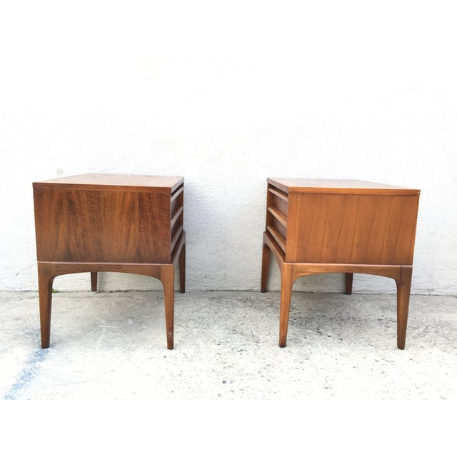 Image of Walnut Lane Nightstands - a Pair