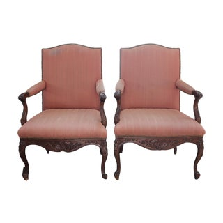 Chippendale Chairs - A Pair