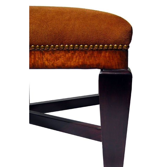 Image of Bench in Polo Ralph Lauren Nubuck Suede Leather