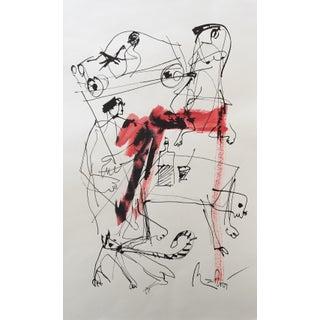 Mark Müller Figurative Drawing Sketch #3