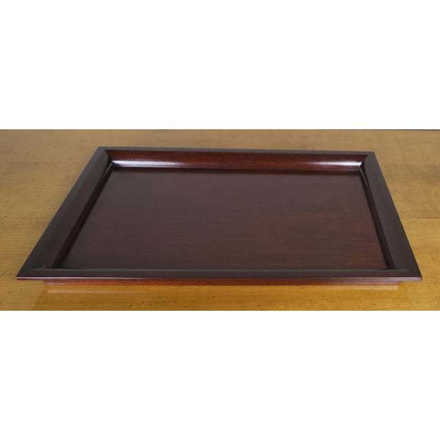 English Mahogany Tray - Image 2 of 7