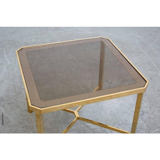 Image of Maison Jansen Style Gold-Plated Coffee Tables - Pair