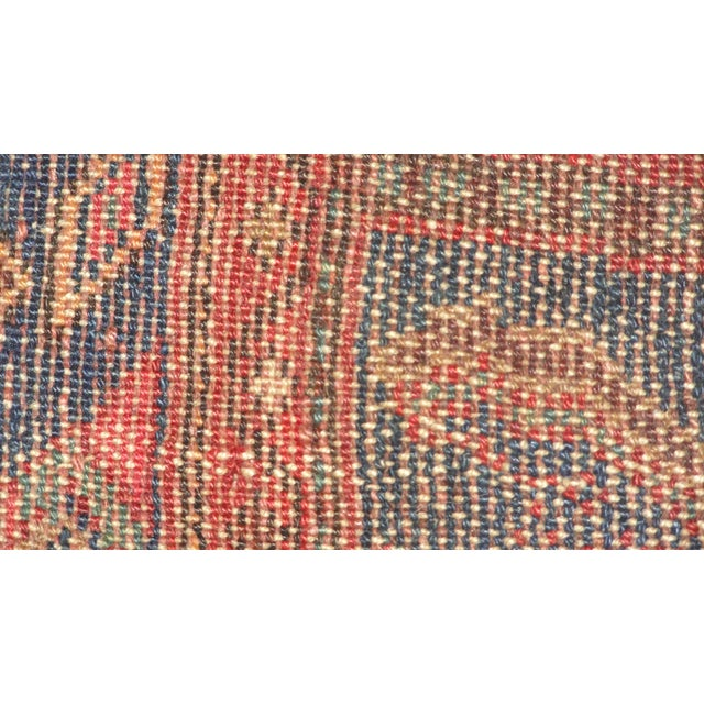 """Antique Persian Camel Rug - 4'4"""" x 6'4"""" - Image 4 of 4"""