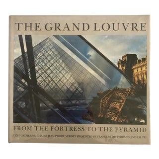 """""""The Grand Louvre"""" 1989 Book"""