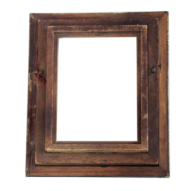 Antique American Ebonized Wood Frame - Image 3 of 5