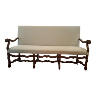 Collection Reproduction Oak Settee
