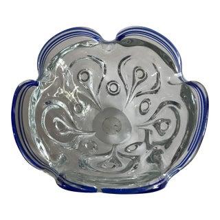 Hand Blown Art Glass Bowl