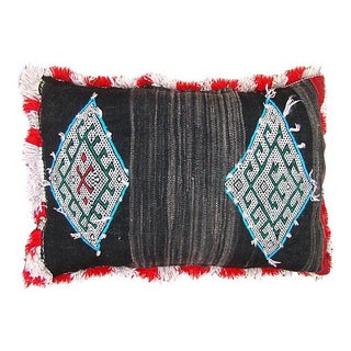 Blue Diamonds Berber Pillow