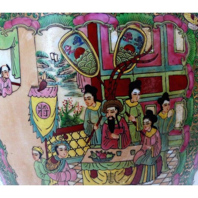 Vintage Asian Goldfish Bowl - Image 7 of 9