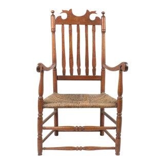 Antique Banister Back Armchair