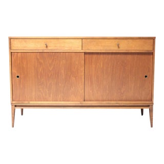1960s Paul McCobb Planner Group Mid-Century Modern Maple Credenza