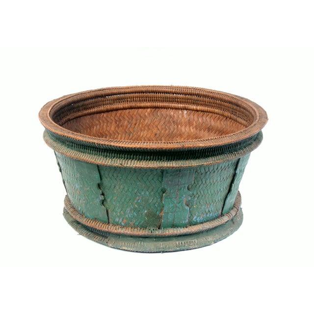 Handmade Market Baskets : Handmade thailand market basket chairish