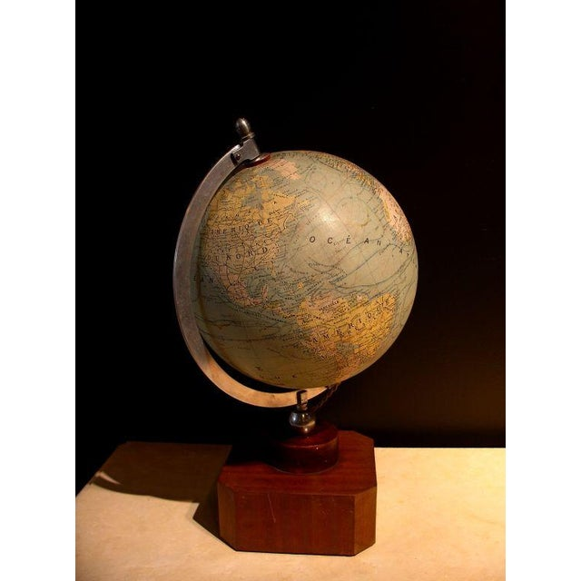 A Illuminated French Terrestial Globe - Image 2 of 8