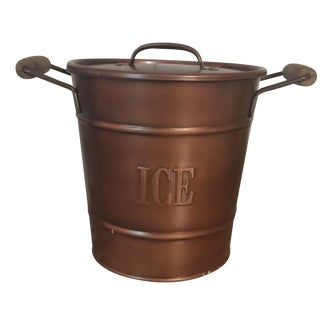 Vintage Copper-Style Ice Bucket