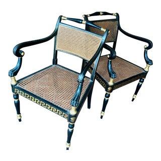 Pair of Regency Arm Chairs