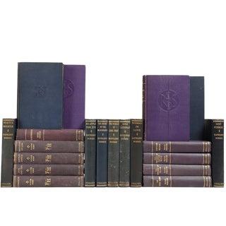 1920's-1940's Indigo & Plum Collier Novels - Set of 20