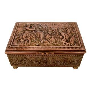 Vintage Repoussé Box