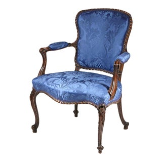 George III Open Armchair in the 'French' taste