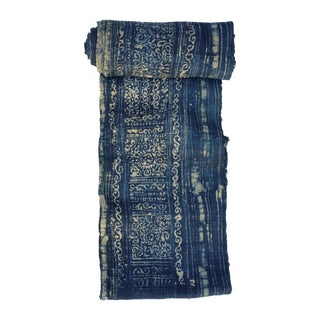 Hand Woven Hill Tribe Batik Fabric Roll
