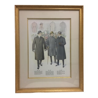 Framed Antique Clothing Line Print, 7 of 14