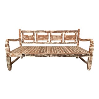 Antique Vintage Provincial Daybed - Eco-Friendly Reclaimed Solid Wood