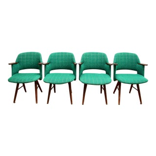 Mid-Century Dutch Armchairs - Set of 4