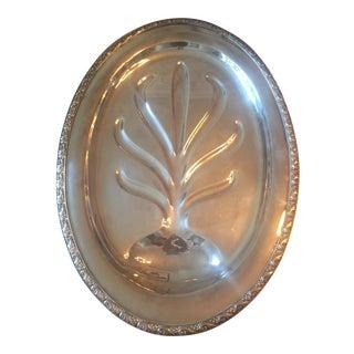 Vintage Oneida Queen Bess Tudor Plate