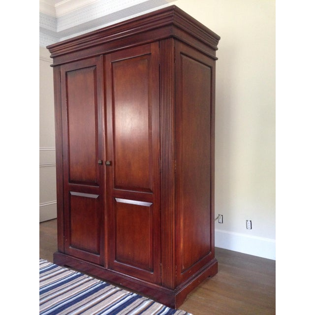 Classic Wood Armoire/Wardrobe - Image 2 of 10