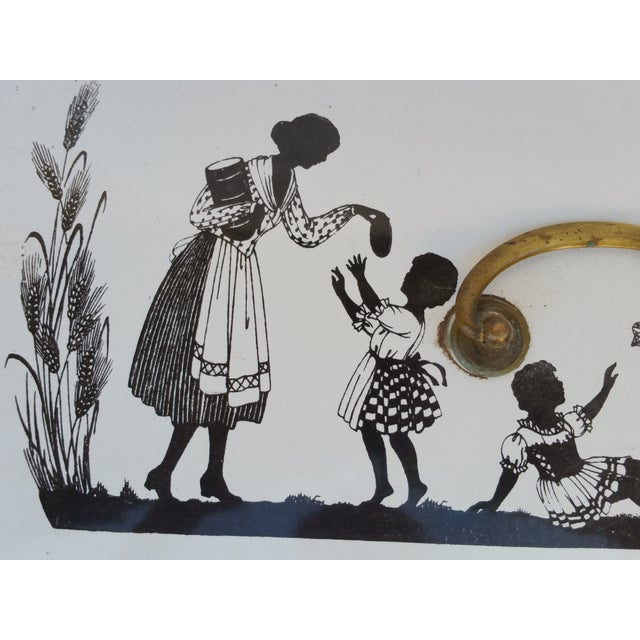 Arts & Crafts Silhouette Bread Box - Image 4 of 6