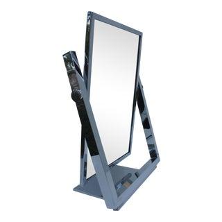 Charles Hollis Jones Chrome Vanity Mirror