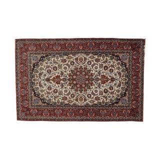 "Leon Banilivi Persian Isphahan Carpet - 5'3"" x 8'"
